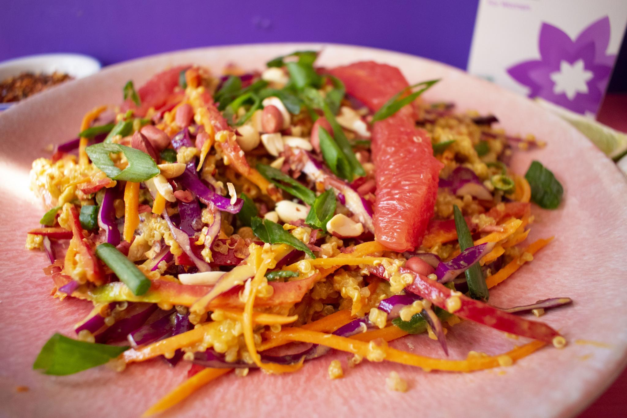 satay peanut thai salad 1